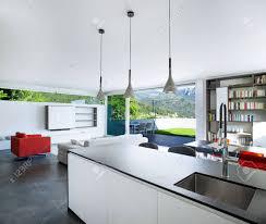 cuisine appartement design d intérieur appartement moderne cuisine banque d images et