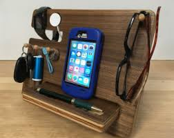 Diy Nightstand Charging Station Phone Dock Etsy