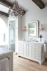 crystal sconces for bathroom crystal sconces for bathroom rustic french bathroom with wood