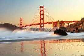 usa photo wallpaper wall murals wallsauce usa golden gate sunrise wall mural wallpaper