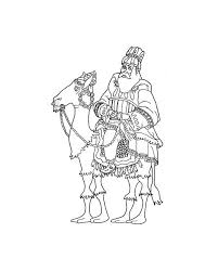 king melchior coloring pages hellokids