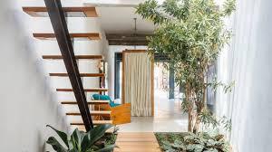 Interior Garden House Vão Arquitetura Organises São Paulo Boutique Around Indoor Garden