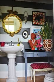 eclectic bathroom ideas i rented the apartment when i saw what she had added to the