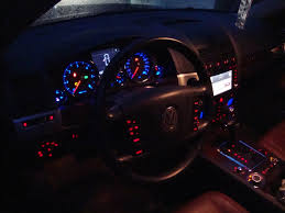 volkswagen touareg interior 2004 diy touareg dashboard illumination color change club touareg forums
