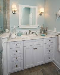 mason jar bathroom bathroom beach style with powder blue walls