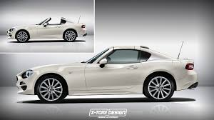 mazda mx5 logo fiat 124 targa rendering is inspired by the mx 5 rf autoevolution