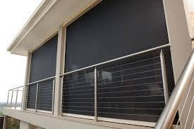 Wind Screens For Patios by Custom Patio Blinds