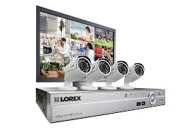 hd 1080p 8 channel 4 camera security system lorex