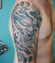 32 black and grey half sleeve tattoos