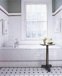 Subway Tile Bathroom Floor Ideas by Glamorous White Subway Tile Bathroom Wood Floor Pictures