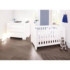 chambre bebe blanc lit bébé sky laqué blanc 70x140 cm pinolino natiloo com la