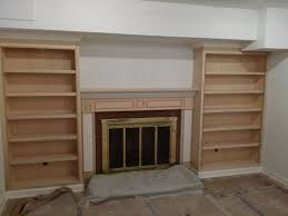 Fireplace Mantels With Bookcases Mantels U0026 Surrounds Mitre Contracting Inc