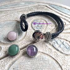 bracelet leather cord images Ib 01 interchangeable 3 in 1 gemstone leather cord bracelet jpg