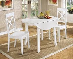 White Folding Dining Table Drop Leaf Dining Table Dans Design Magz