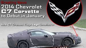 Corvette Flags News 2014 Chevrolet C7 Corvette To Debut In January U2013 2013