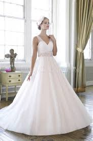 robe de mari e femme ronde col en v robe de mariée pour femme ronde