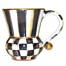 mackenzie childs wedding registry mackenzie childs courtly check mug handcrafted mug