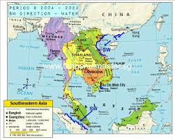 Asia World Map by World Of Feng Shui Feng Shui Master