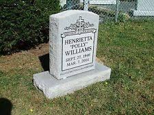 tombstone engraving cemetery headstones grave markers ebay