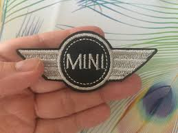mini cooper logo mini cooper embroidered iron on patch mini cooper patch mini