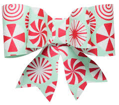 bow wrapping paper paper bow topper mistletoe paper gift topper
