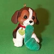 puppy hallmark ornaments