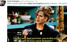 Memes About Divorce - jennifer aniston memes flood twitter after angelina jolie and brad