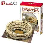 Leaning Tower of Colosseum 3D model Italy building famous puzzle ...