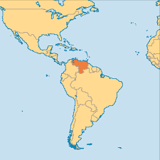 Venezuela Map Venezuela Operation World Within On Map Besttabletfor Me