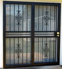 Security Patio Doors Patio Security Doors Security Doors For Sliding Glass Doors My