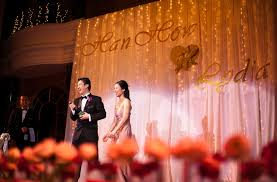 wedding backdrop kl wedding reception at renaissance hotel kl