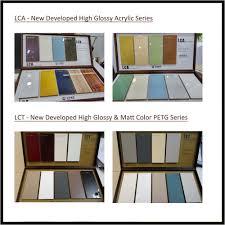 malaysia modern design cabinet furniture semi gloss petg ready