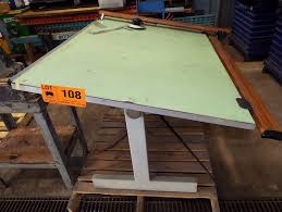 Norman Wade Drafting Table Norman Wade 60 X37 Drafting Table