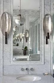 Silver Sconces Bathroom Lighting Fixtures Wall Sconces Bathroom
