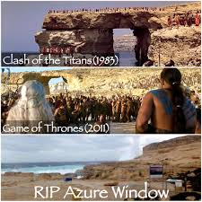 azure window colapse gozo malta azurewindow gameofthrones on instagram