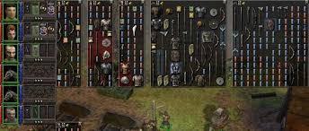 donjon siege dungeon siege rpg gui hud rpg
