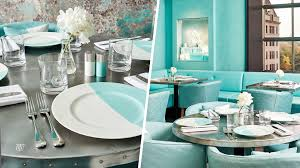 tiffany and co home decor tiffany u0026 co jewelry store opens first cafe today com