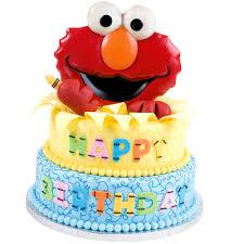 elmo birthday cakes sesame elmo s birthday cake wilton