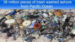 38 million pieces of trash washed ashore from pacific ocean youtube