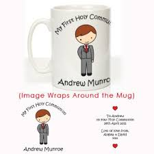 communion presents personalised boys holy communion mug communion gifts 1st
