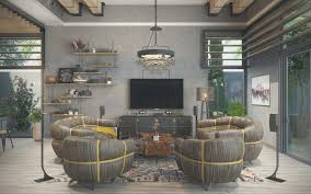 living room new industrial living rooms home decor color trends