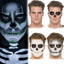halloween make up u2013 vampire ghost skeleton zombie fancy dress face