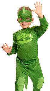 amazon com pj masks gekko costume set toys u0026 games
