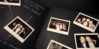 polaroid guest book album polaroid wedding in tuscany