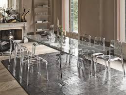 tavoli di cristallo sala da pranzo tavolo allungabile in vetro arredo soggiorno