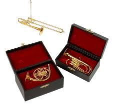 horn trumpet ornaments brass family