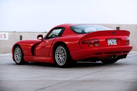 Dodge Viper Gts - supercharged 2000 dodge viper gts acr shows up on ebay