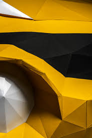 nissan juke qatar living nissan forms full size origami car with 2 000 folded paper sheets