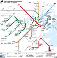 Subway Map by How To Use The Boston Subway Map And Tips Free Tours By Foot