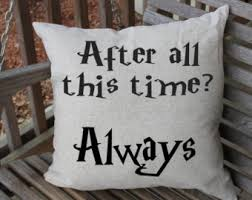 harry potter pillow etsy